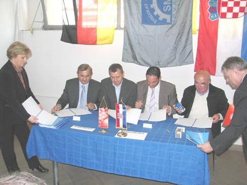 Potpisivanje KU u Kralj Metala Alati-2014