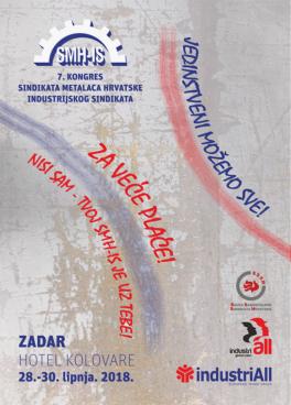 7. Kongres Sindikata metalaca Hrvatske- Industrijskog sindikata