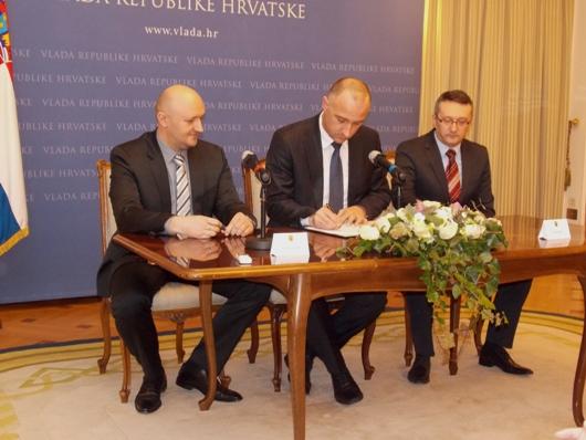 Potpis na Ugovoru za Brodosplit