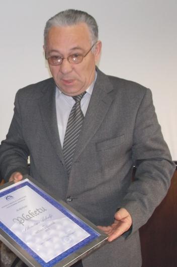 Branko Kužet je preuzeo Plaketu za Silvesrtra Šekulju
