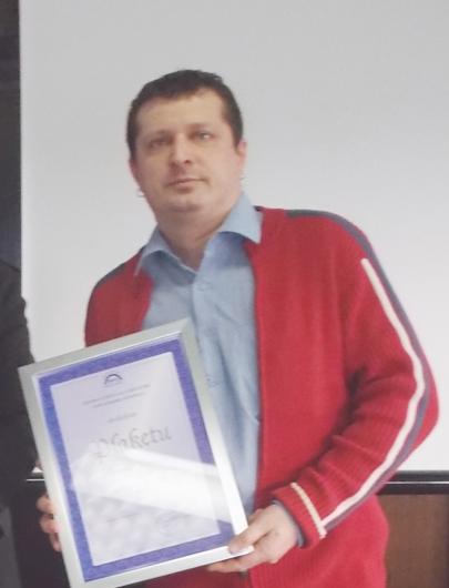 Davor Goršić-dobitnik Plakete metalac godine
