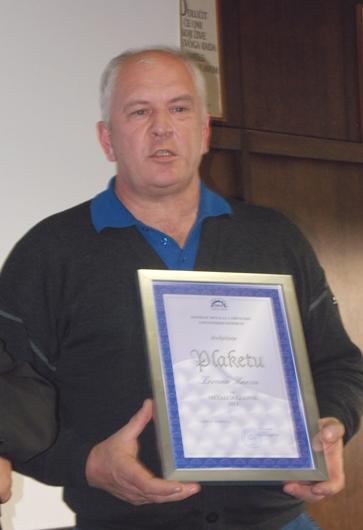 Zoran Knez-dobitnik Plakete metalac godine