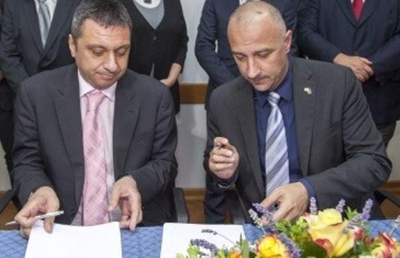 Potpis na Ugovor 3.MAJ