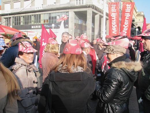 Metalci na prosvjedu